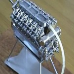 World's Smallest V12 Model Engine...