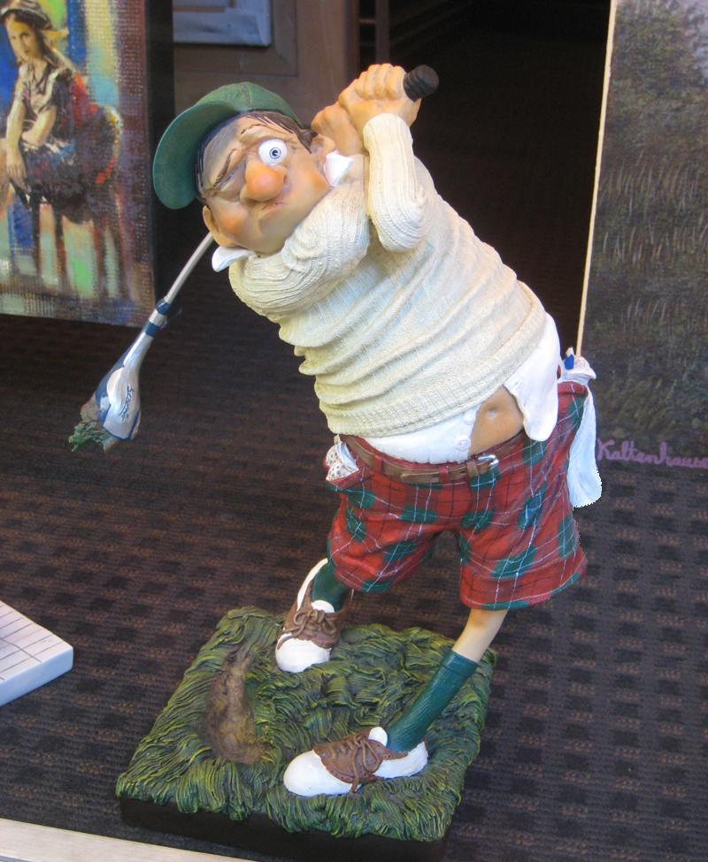 Golf Swing Gnome