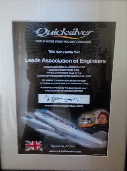 Quicksilver Certificate